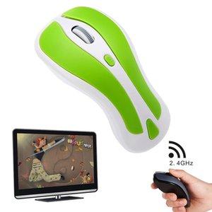 PR-01 6D Gyroskop-Fly-Air-Maus 2.4 G USB-Empfänger, 1600 DPI Wireless Optische Maus für PC Android Smart TV Box
