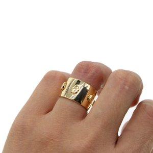 Золотой цвет большой широкий кольцо для женщин минимальный простой элегантный cz ювелирные изделия горячая мода гравировка moon star cz engagment band кольца