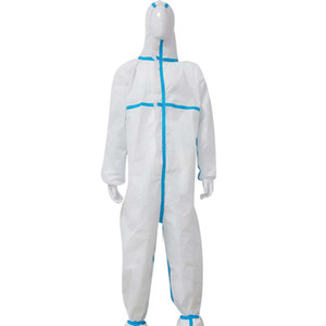 Coverall Suit Protection Protective Disposable PP Clothing Disposable Factory Safety Clothing Waterprooffactory work clothesWaterproof,