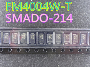 100pcs lot New Diode FM4004W-T SMADO-214 in stock free shipping