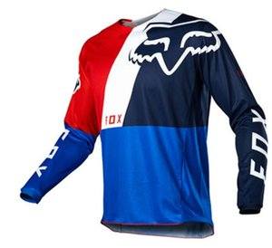 فوكس 2020 hot-selling downhill suit long-sleed specific riding suit men's outdoor sports off-road t-shirt quick-drying top