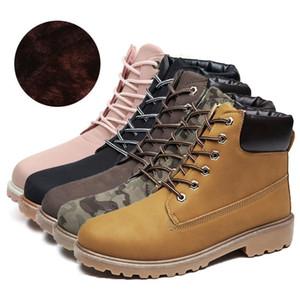 2019, mais de veludo botas Martin casal de mulheres modelos mais algodão homens grandes sapatos de espessura homens quentes e mulheres sapatos
