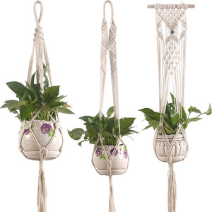 Bohemia Suspension Tuck Net Handmade Modern Home Garden Decor String Bag Strong Flexible Vender bien con diferentes estilos 8 36zy J1