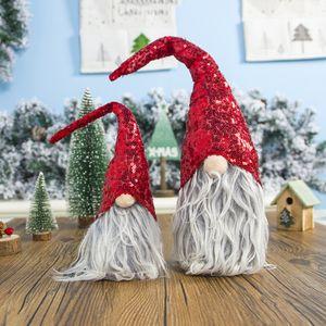 Рождество Безликая Кукла Вешалка Нетканые Ткани Скандинавская Страна Бог Санта-Клаус Висит Кукла Рождество Год Украшения Окна