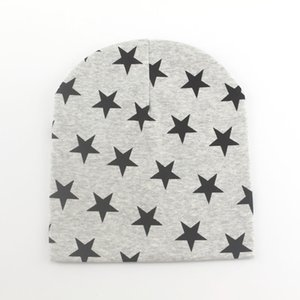 1 Piece Winter Autumn Crochet Baby Hat Girls Boys Cap Unisex Beanie Star Infant Cotton knitted toddlers Children Kids Clothes