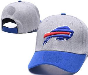 2020 высокое качество дешевые Snapback Cap женщины мужчины изогнутые поля Strapback кости футбольная кепка буйвол шляпы BUF бейсболка