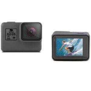 Tempered Glass Protector Cover Case For GoPro Go pro Hero5 Hero6 Hero7 Hero 5 6 7 Black Camera Lens LCD Screen Protection Film
