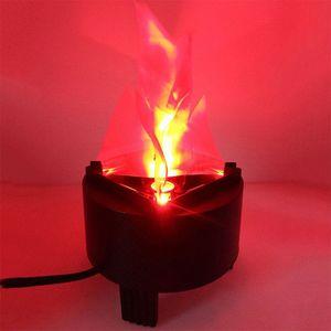 Faux virtuels d'étape de flamme de feu virtuels ont mené l'éclairage de flamme en soie de tissu pour le divertissement de vacances de barre de la partie KTV Halloween hanté