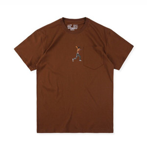Трэвис Скотт AstroWorld Дизайнер футболки Повседневная Сыпучие Лето с коротким рукавом Hip Hop футболки Лучшие Тис