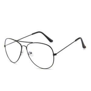 Datati occhiali da sole classici pilota Frames Uomini Blue Light Anti Fantastico Donna Designer di guida di Eyewear di vetro di Sun gl135 con il sacchetto