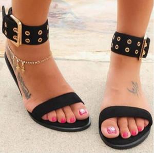 Женские сандалии Прозрачные плоские туфли большого размера Женские прозрачные желейные туфли женские римские пляжные сандалии 2019 Mujer