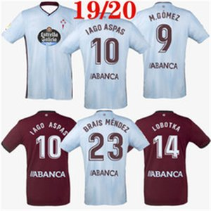 2019 2020 RC Celta de Vigo Soccer Jersey LOBOTKA Iago Aspas Santl MINA crianças Football Shirt camiseta SISTO BOUFAL futbol Top Kit Qualidade