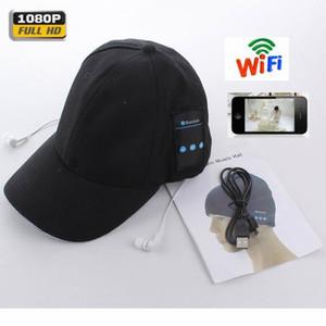 Bluetooth гарнитура + WiFi 4K шлема спорта микро камера DVR Мини камера наблюдения интеллектуальная безопасность высокого качества