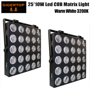 2 Adet 5X5 25X10W LED Matrix Light Disco Işık LED Matrix kör Piksel Paneli 10W COB Beyaz Led DJ Efekt Arkaplan Destek