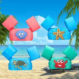 Chaleco salvavidas infantil infantil Equipo de natación para bebés Mangas de flotabilidad Traje de baño de deriva trasero Anillo de natación para niños y niñas