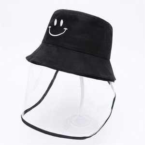 NEW Children's Hat Fisherman's Anti-fog Dust Anti-Droplets 2 In 1 Hat For Kid Anti Spittle Cover Full Face Eye Protect Hat Mask