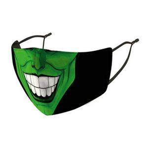 Ledger Viso Earloop Designer Strap e naso Maschera Very Light Masks comodi semplice regolabile Heath Ledger Joker della copertura della mascherina Heath VpSky