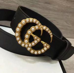 Clássico Unisex 2020 Designers Cintos mulheres famosas Moda Couro Popular Men Belt de luxo de couro genuíno Belt frete grátis 32