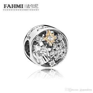 FAHMI 100% Argent 925 1: 1 Original 796363CZ Tempérament authentique Mode Rétro Glamour Perle de mariage Femmes Bijoux