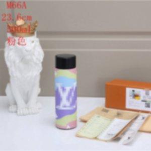 500ML Designer Wasserflasche Luxus-Wasserflasche mit Temperaturanzeige Außen 20062202X
