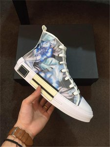 La migliore qualità Fiori Obliques Tess Luxury Fashion Designer piattaforma Sneakers Uomo Donna Vintage preparatore atletico delle scarpe da tennis