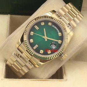 Lüks Erkek Saatler Datejust 36mm Otomatik Mekanik JUBILEE Bilezik Kadın Erkek Elmas tasarımcı Kol saatı İzle Man