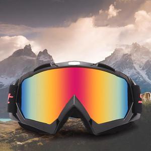 Motorrad Racing Brillen Motocross Offroad Dirt Bike ATV Brillen Ski Snowboard Brillen Für Männer Frauen Bunte Linse MT02
