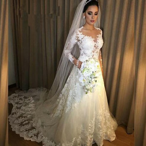2019 Новый кружева пляж свадебные платья пляж-line свадебное платье материнства беременных Boho свадебные платья с длинным рукавом robe de mariée