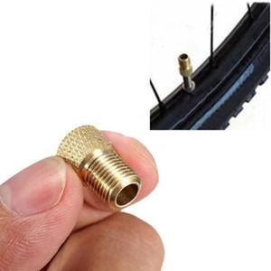 moto 1000Pcs / Lot della bicicletta della protezione di valvola Presta Schrader Valve Converter tubo adattatore della valvola della pompa strumento di conversione della gomma della bicicletta