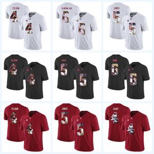 Jerry Jeudy Alabama Crimson Tide 4 T. J. Yeldon 5 Cyrus Jones 6 Blake Sims 6 Ha Ha Clinton-Dix NCAA Football Impresso Jersey