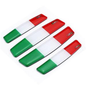 İtalya Bayrağı Anti-çarpışma Şerit Için Otomobil Kapı Araba Kapı Kenar Tutkal anti-çizik Anti-çarpışma tutkal
