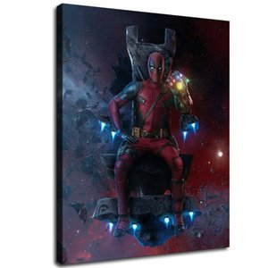 Deadpool Resolute,Home Decor HD Print Modern Art Canvas (Unframed   Framed) 12x16&quot