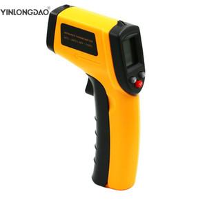 GM320 del laser LCD Digital termómetros infrarrojos de temperatura Medidor de Gun Point -50 ~ 380 grados House Herramientas