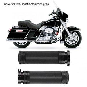 2PCS Moto Guidon Grip Cover Levier Couvercle universel (Noir)