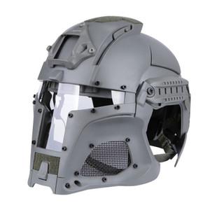 Ballistischen Helm seitliche Schiene NVG Shroud Transferbasis Kampf Airsoft Paintball Vollvisierhelm Maske