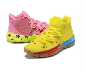 Los mejores zapatos para niños Kyries 5 baloncesto de los hombres las mujeres Irving 5s Tienda Piñas Casas zapatillas de deporte con el rectángulo de envío Tamaño 36-46