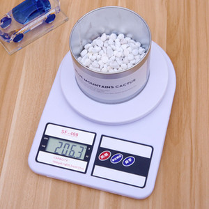 Electronic Scale Multiple Units High-precision LCD Night Light Display Stainless Steel Mini Portable Gram Scale Silvery