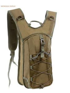 sac à dos d'hydratation sac de voyage en eau packs 3L Molle Tactical Sacs à dos d'hydratation camping en plein air Camelback Nylon Camel Sac de vessie