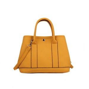 Kıdemli Deri Bayan Omuz Çantaları Yüksek Kalite bayan çantası Büyük Kapasiteli Ofis Çanta Messenger Omuz