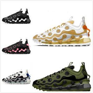 2020 react element 87 55 running shoes for men women Light Bone triple black bred Hyper Pink mens trainers sports sneakers runner shoes nine