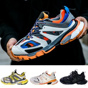 Balenciaga Triple s Hot Luxury Authentic Designer Shoes Release Track 3.0 Tess S Paris Triple s Zapatillas de deporte Gomma Maille Mujer Hombre Clunky zapatos casuales 36-45