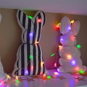 LED 스타 문자열 조명 LED 요정 조명 크리스마스 웨딩 장식 조명 AA 배터리 생일 장식 반짝 운영