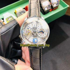 Statische Version CR7 EPIC X CHRONO Astronomical Tourbillon Skeleton Diamanten Zifferblatt Schweizer Quarz-Herren-Uhr-Diamant-Kasten Luxus Designer-Uhren
