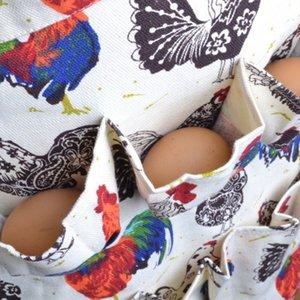 Multi-pocket Egg Harvest lavoro Grembiuli Goose Eggs Collection Grembiuli