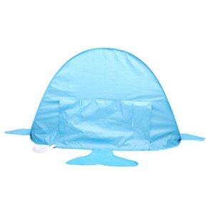 Tent MINOCOOL Praia Tubarão Forma infantil ao ar livre Pop Up Sombra portátil Piscina UV Protection Sun Tent Shelter