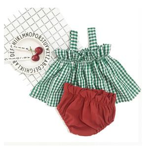 0-1-2-year-old half female baby summer dress baby skirt summer cotton suit 5 months girl Sling Dress