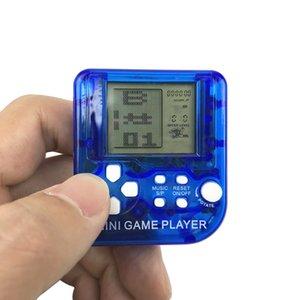 Clássico eletrônico ultra-pequenos Mini Tetris jogador Crianças Handheld do jogo consola portátil LCD para a Educação Infantil Toy