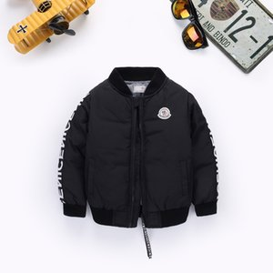 2019 New Boys Down Parkas Jackets Winter Jacket Boy Fashion Children 두꺼운 코트 Kids Windbreaker Jacket 착실히 보내다 90-130 센치 메터
