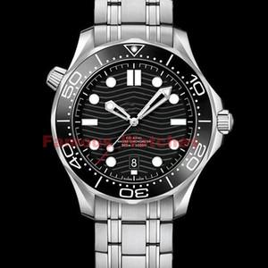 Luxury Mens механические часы для мужчин Профессиональный 300м Джеймс Бонд 007 черный циферблат сапфировое Автоматические Мужские Часы самостоятельной ветровые Часы наручные часы