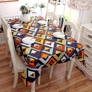 Withme Nappes sur la table de couverture tapis coton Nappes Creative pour la maison et la cuisine dîner salle à manger tapis de couverture de table